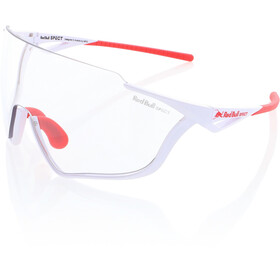 Red Bull SPECT Pace Lunettes de soleil, glossy white/clear